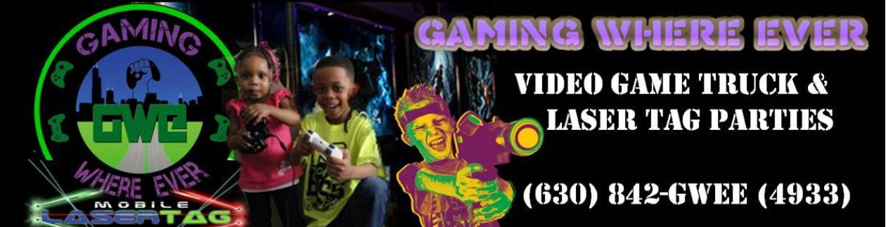 Gaming Where Ever – Greater Chicago Video Game Truck & Laser Tag Party Experts