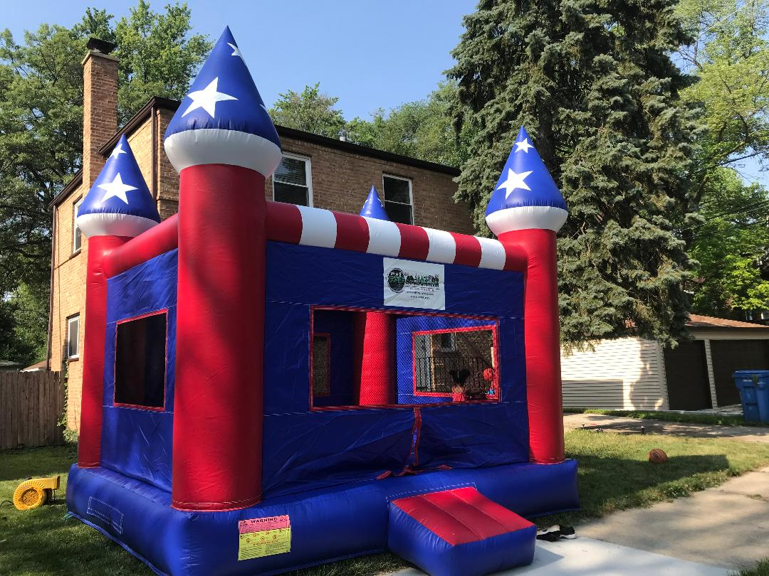Chicago inflatable bounce house rental by Gaming Wherever Entertainment