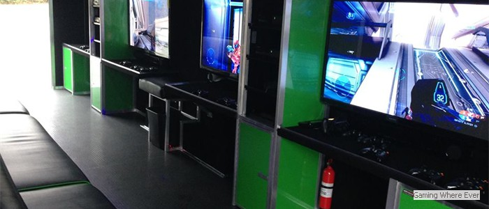 Our Mobile Video Game Theater