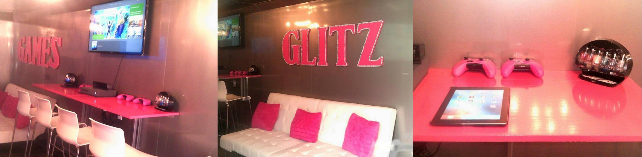 Chicago glamour glam glitz spa party truck for girls